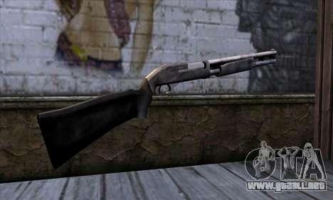 Chromegun v2 Habitual para GTA San Andreas segunda pantalla