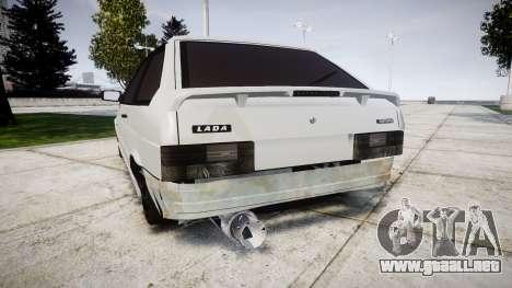 VAZ-2113 Turbo para GTA 4 Vista posterior izquierda