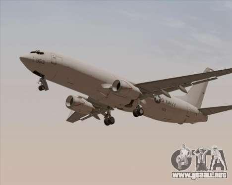 Boeing P-8 Poseidon US Navy para la vista superior GTA San Andreas
