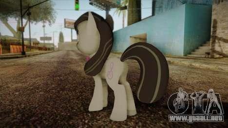 Octavia from My Little Pony para GTA San Andreas segunda pantalla