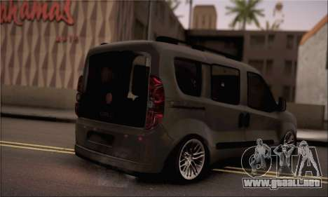 Fiat Doblo 2010 para GTA San Andreas left