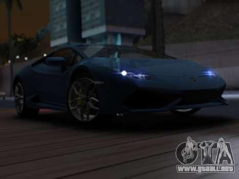 Lime ENB v1.2 SA:MP Edition para GTA San Andreas sucesivamente de pantalla