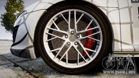 Audi R8 LMX 2015 [EPM] Cobweb para GTA 4 vista hacia atrás