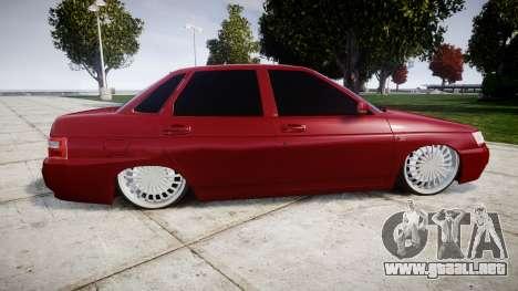 ВАЗ-2110 Bogdan rims2 para GTA 4 left
