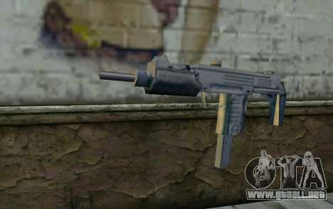 MP5 from GTA Vice City para GTA San Andreas