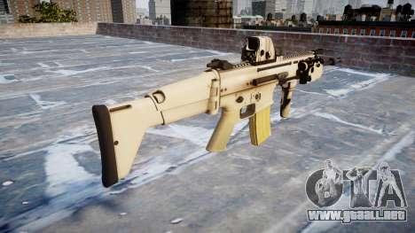 Máquina FN CICATRIZ-L Mc 16 icon1 para GTA 4 segundos de pantalla