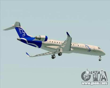 Embraer CRJ-700 China Express Airlines (CEA) para GTA San Andreas vista hacia atrás