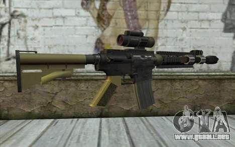 M4 MGS Iron Sight v2 para GTA San Andreas segunda pantalla