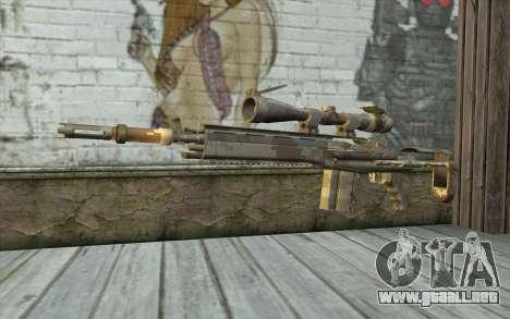 M14 EBR Digidesert para GTA San Andreas