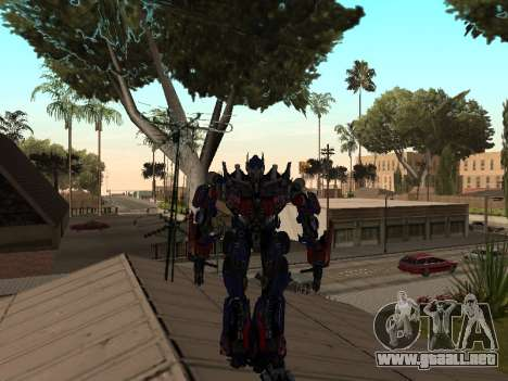 Transformers 3 Dark of the Moon Skin Pack para GTA San Andreas segunda pantalla
