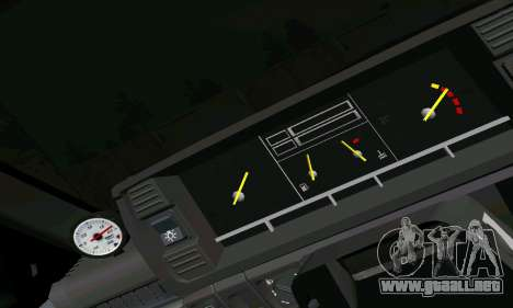 VAZ 2108 para vista inferior GTA San Andreas