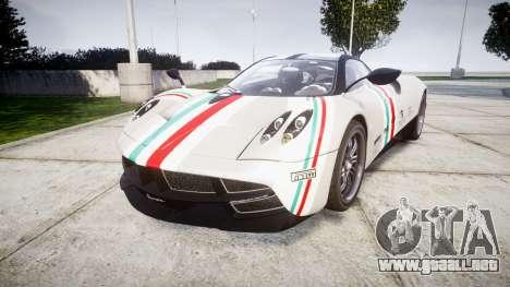 Pagani Huayra 2013 para GTA 4