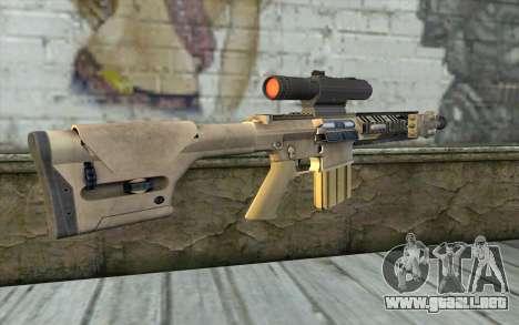 M110 Cuarter Combat Rifle para GTA San Andreas segunda pantalla