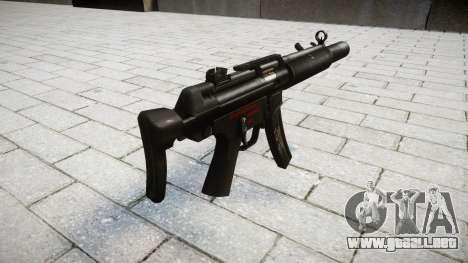 Pistola de MP5SD RO CS para GTA 4 segundos de pantalla