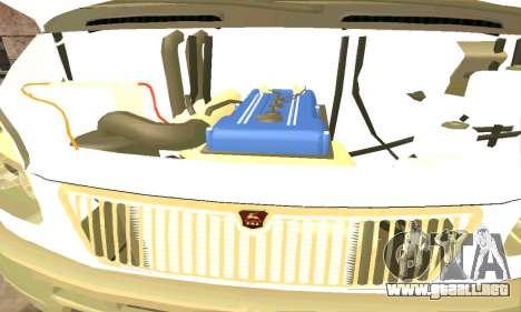 Gacela de Remolque 33023 v1.2 Beta para GTA San Andreas vista hacia atrás