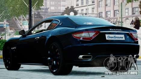 Maserati Granturismo 2012 para GTA 4 left
