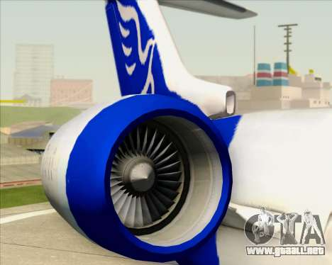 Embraer CRJ-700 China Express Airlines (CEA) para las ruedas de GTA San Andreas