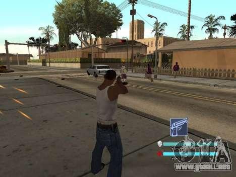 C-HUD OREAN para GTA San Andreas segunda pantalla