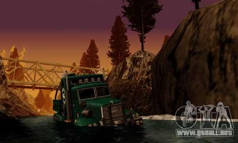 Pista de off-road 4.0 para GTA San Andreas sexta pantalla
