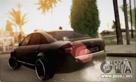 Audi A6 para GTA San Andreas left