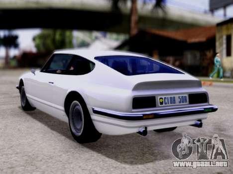 Lampadati Pigalle GTA V para GTA San Andreas left