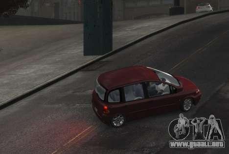 Fiat Multipla para GTA 4 Vista posterior izquierda