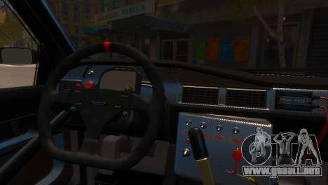 Mercedes-Benz 190E Evo2 GT3 para GTA 4 visión correcta