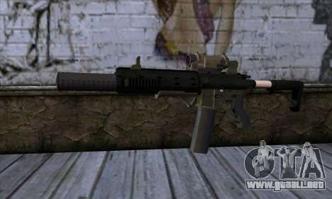 Carbine Rifle from GTA 5 v1 para GTA San Andreas