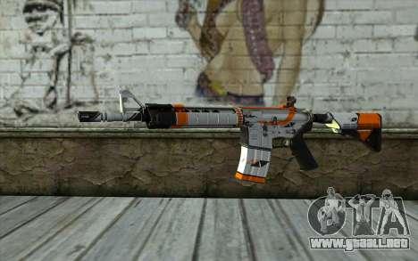 M4A4 from CS:GO para GTA San Andreas