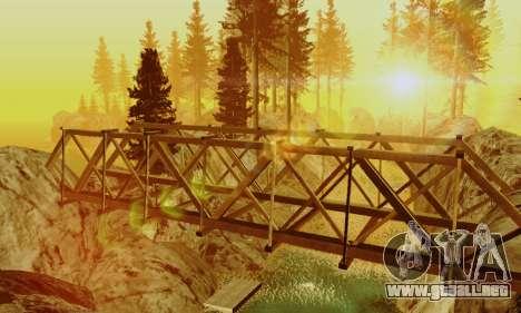 Pista de off-road 4.0 para GTA San Andreas segunda pantalla
