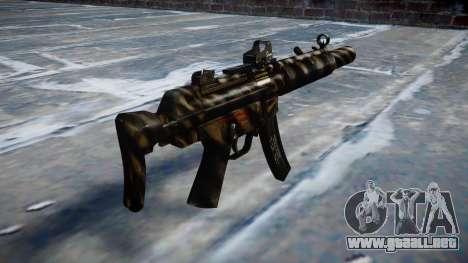 Pistola de MP5SD DRS CS c de destino para GTA 4 segundos de pantalla