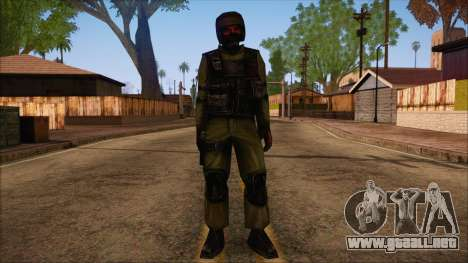 Urban from Counter Strike Condition Zero para GTA San Andreas