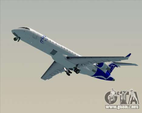 Embraer CRJ-700 China Express Airlines (CEA) para la vista superior GTA San Andreas