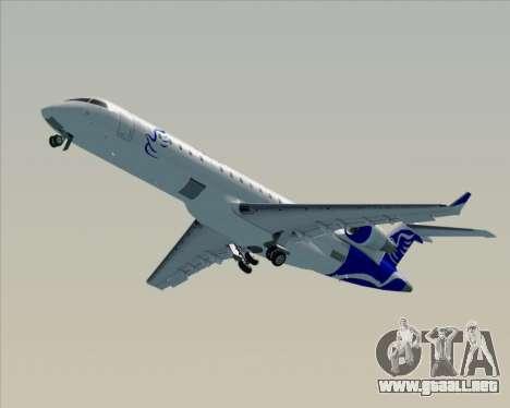 Embraer CRJ-700 China Express Airlines (CEA) para la vista superior GTA San Andreas