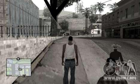 Winter Colormod para GTA San Andreas segunda pantalla