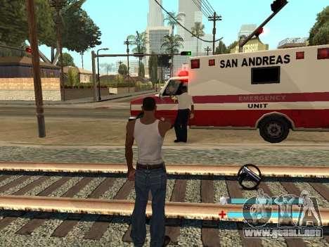 C-HUD OREAN para GTA San Andreas tercera pantalla