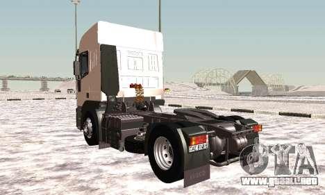 Iveco EuroTech Inflamables para la visión correcta GTA San Andreas