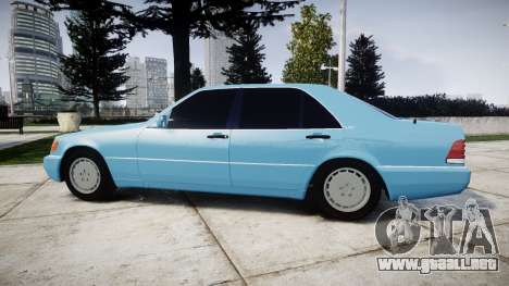 Mercedes-Benz 600SEL W140 para GTA 4 left