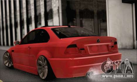 BMW M3 Coupe Tuned para GTA San Andreas left