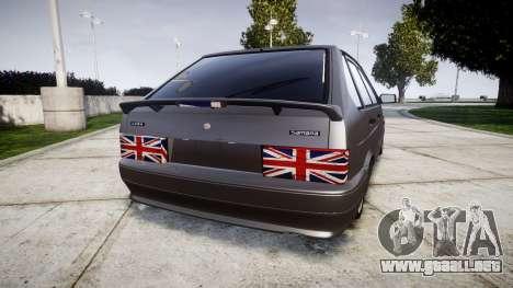 El USO de-2114 Londres para GTA 4 Vista posterior izquierda