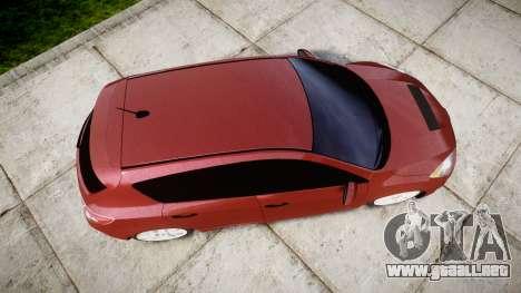 Mazda 3 MPS para GTA 4 visión correcta
