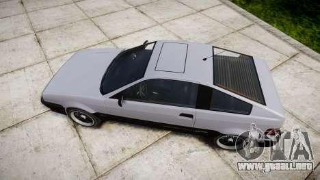 Dinka Blista Compact Sport para GTA 4 visión correcta