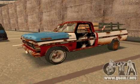 Ford PickUp Rusted para GTA San Andreas