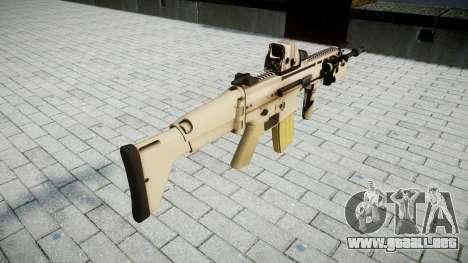 Máquina FN CICATRIZ-L Mc 16 de destino icon2 para GTA 4 segundos de pantalla