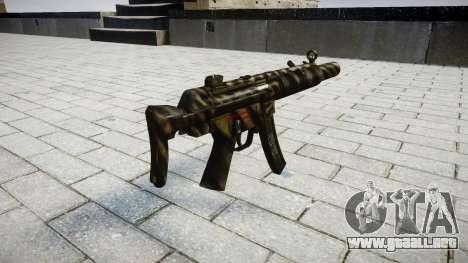 Pistola de MP5SD NA CS para GTA 4 segundos de pantalla