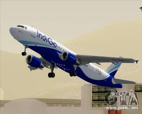 Airbus A320-200 IndiGo para GTA San Andreas