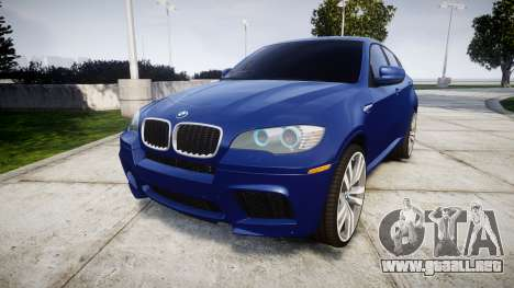 BMW X6M rims1 para GTA 4