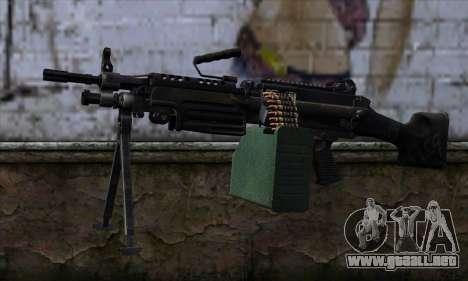 M249 v2 para GTA San Andreas