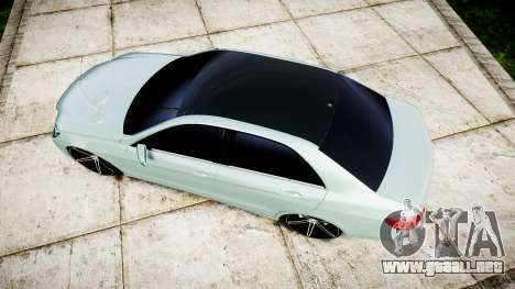 Mercedes-Benz E200 Vossen VVS CV5 para GTA 4 visión correcta
