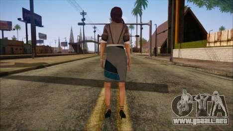 Modern Woman Skin 8 para GTA San Andreas segunda pantalla